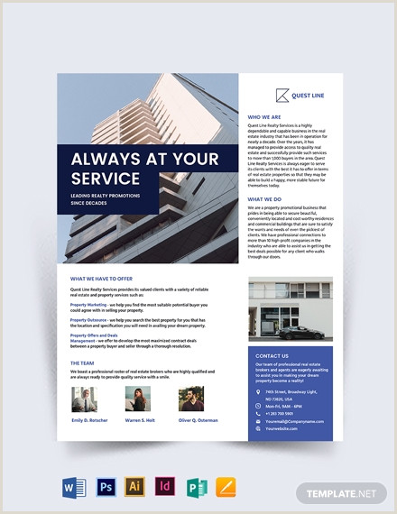 Real Estate pany Promotional Flyer Template