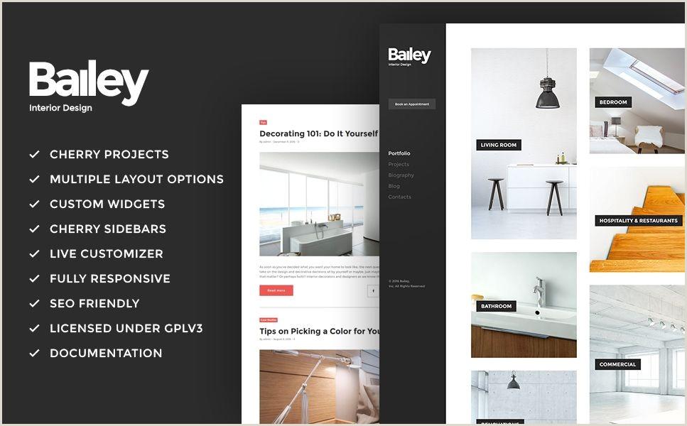 Interior Design Templates Best Interior Design Brochure