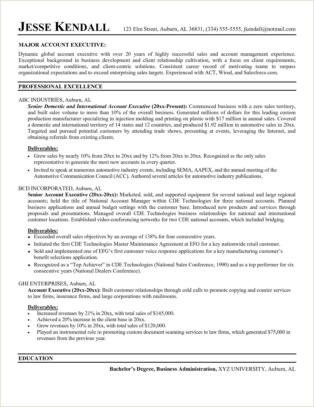 41 It Director Resume Sample