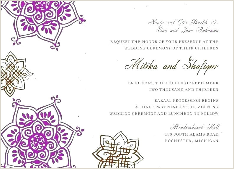 indian wedding card template