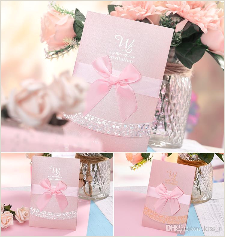 30pcs Wedding Invitation Card for Wedding Blank Inner Sheet Pink Red Birthday Invitation with Envelope Silver Gold Pattern