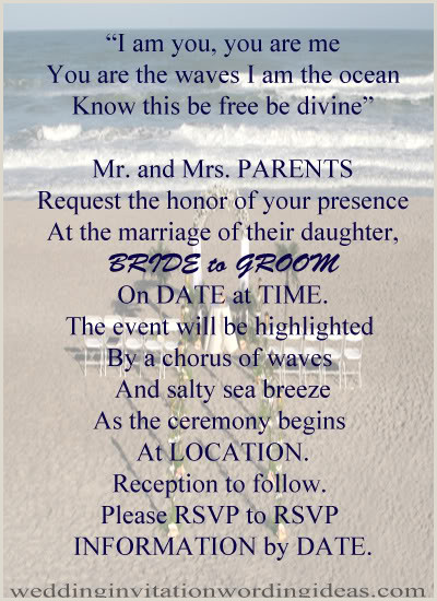 Inexpensive Seal and Send Wedding Invitations the Best Wedding Invitations for You Beach Wedding