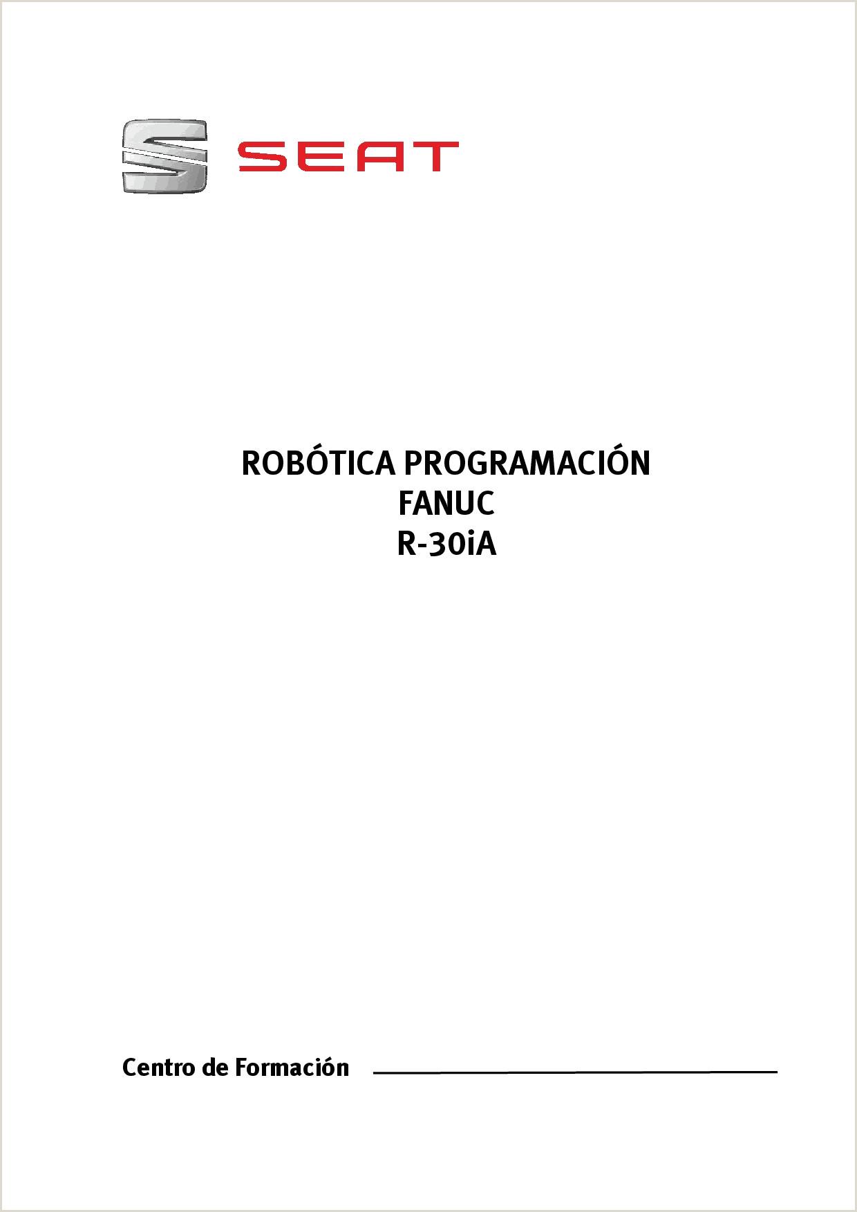 Instructivo formato Unico De Hoja De Vida Manual Fanucr 30i A Manual De Programa§£o Fanuc Docsity