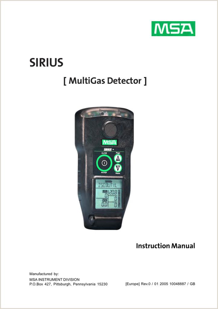 Instructivo formato Unico De Hoja De Vida Sirius [ Multigas Detector ]