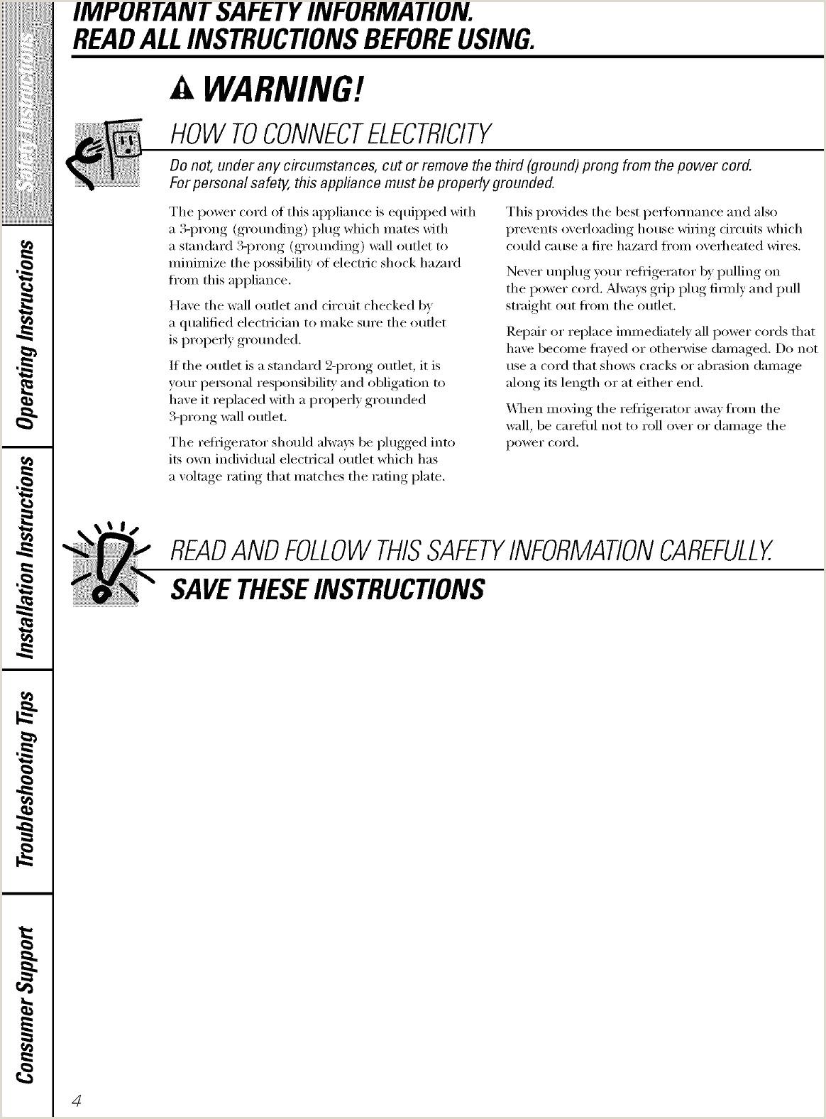 Instructivo Formato Unico Hoja De Vida Persona Natural Ge Gcl22qgtasv User Manual Refrigerator T Series Manuals And