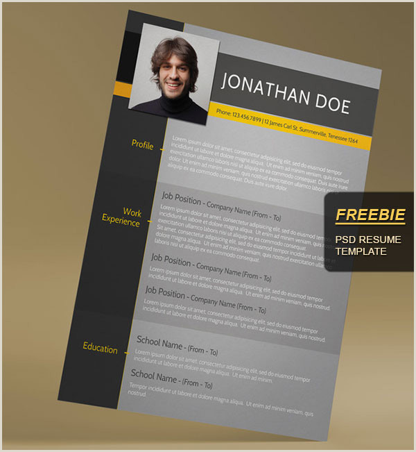 28 Minimal & Creative Resume Templates PSD Word & AI