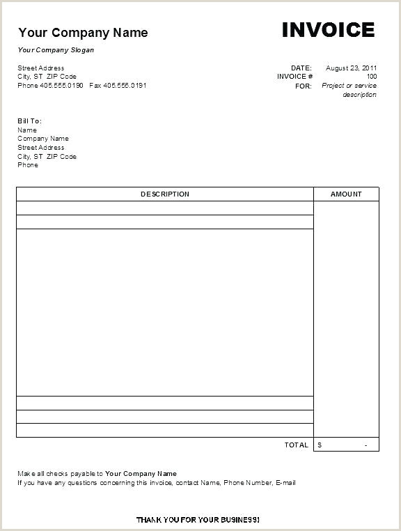Invoice Templates for Macs Invoice Template Mac Word Templates Design Musician
