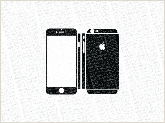 iPhone 6 Skin Template 5 Skin Template Minimal White Product Vector for Resume
