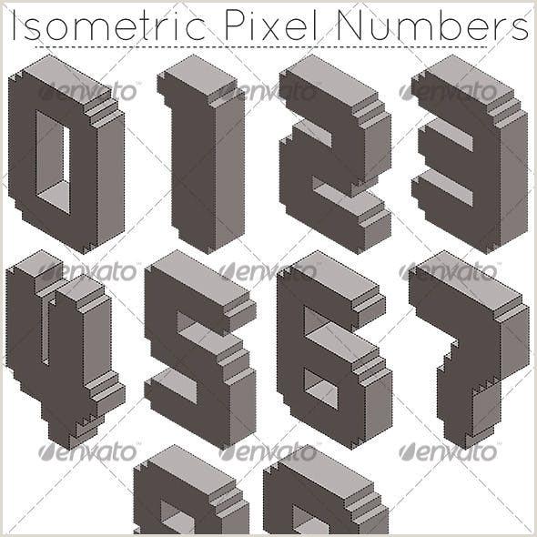 Isometric Pixel Art Maker Pixel Art Vectors From Graphicriver Page 3