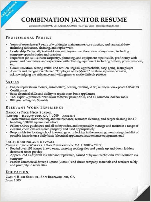 82 Custodian Resume Objectives Resume Custodian Objective