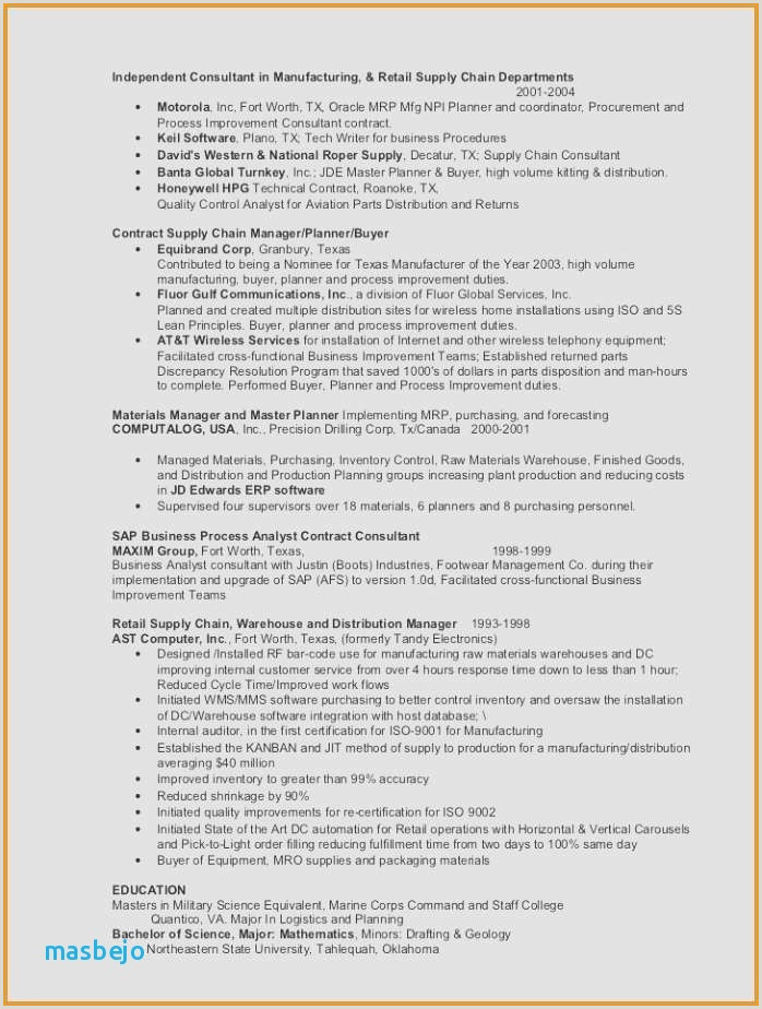 Custodian Resume Luxury 55 Inspirational Sample Resume for