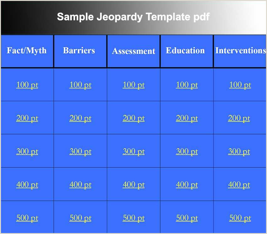 Jeopardy Game Template Powerpoint Powerpoint Jeopardy Template with Music sofas