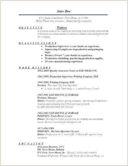 Job Description for Waitress Customer Service Resume Templates Skills Services Job