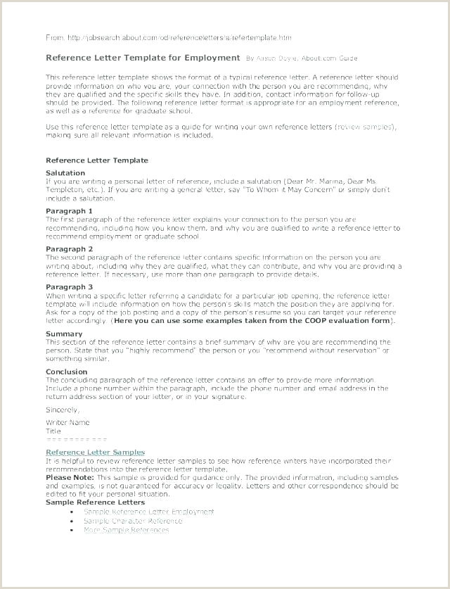 Job Reference Template Word Re Mendation Letter Template Word Ocean Standard