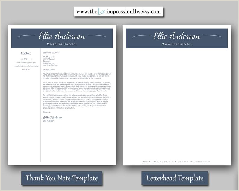 Resume Template Instant Download Microsoft Word PC patible US Letter and A4 Size Templates