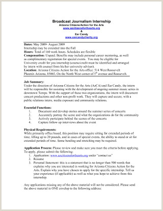 Journalism Resume Template Minimalist Broadcast Journalism Resume Examples Resume Design