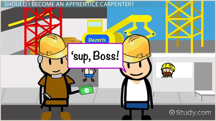 Journeyman Carpenter Resume How to Be E An Apprentice Carpenter