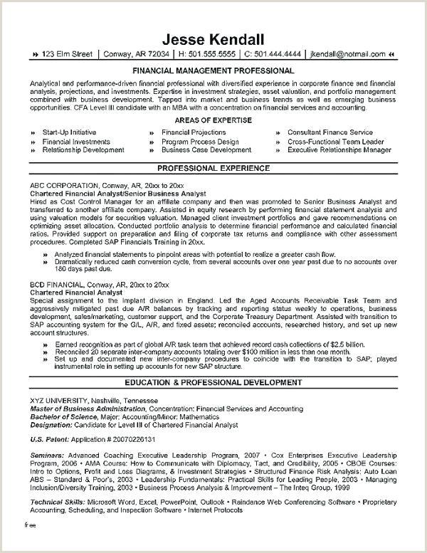 Junior Financial Analyst Resume Financial Analyst Resume Template Financial Analyst Template