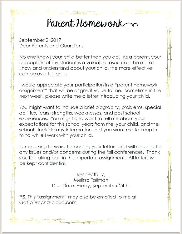 Parent Wel e Letter Template pany Guarantee Permission