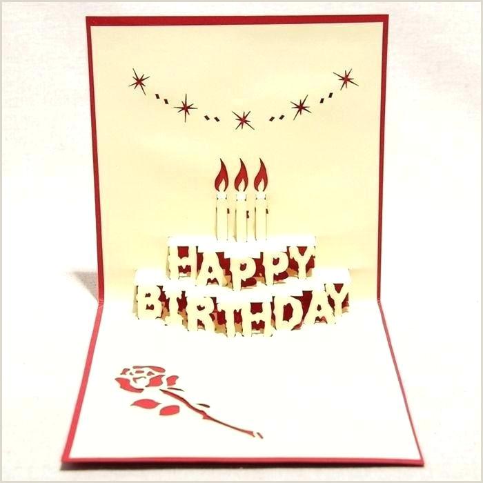 Kirigami Pop Up Cards Free Patterns Kirigami Birthday Card Template – Schottcorp