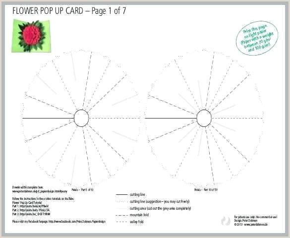 Origami Web Albums Pop Up Card Templates Kirigami Pdf Free