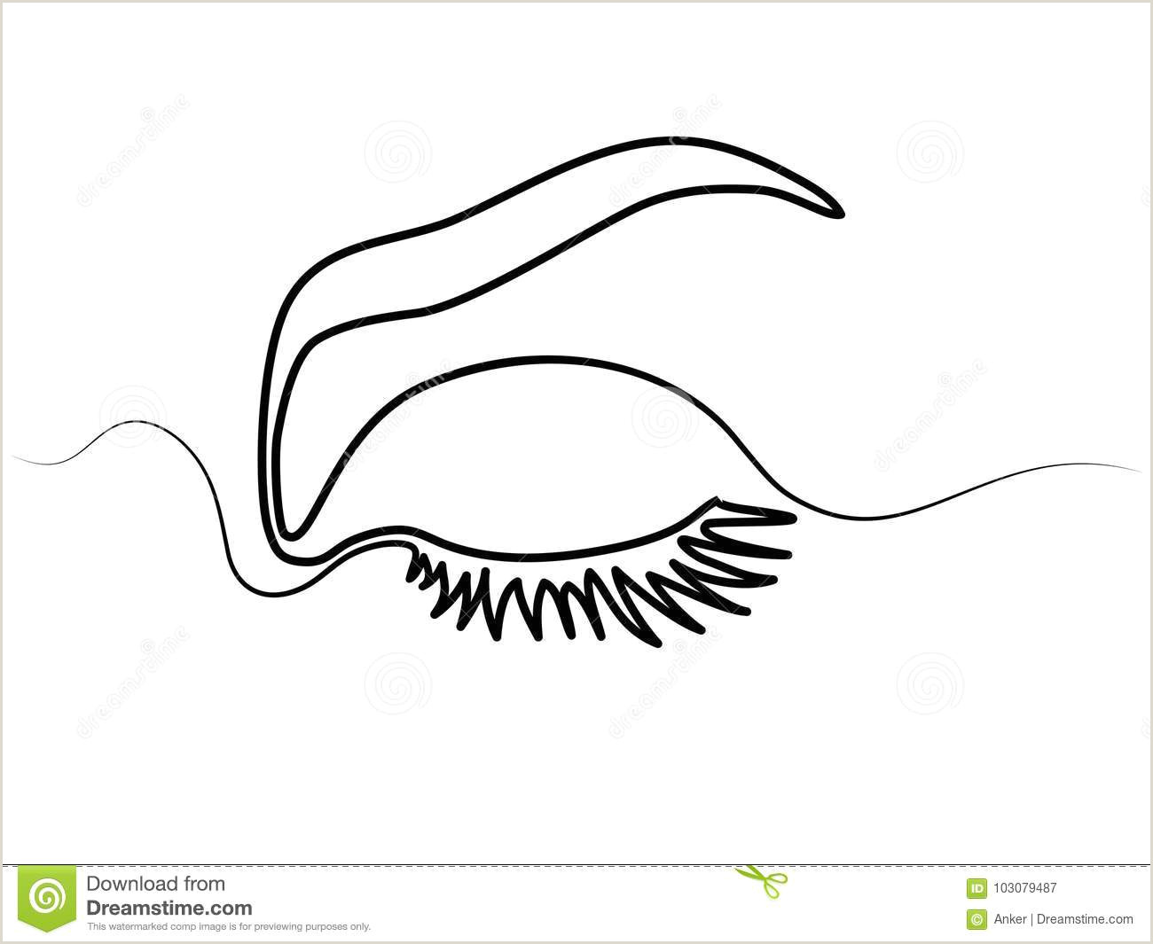 Woman eye make up stock vector Illustration of lashes