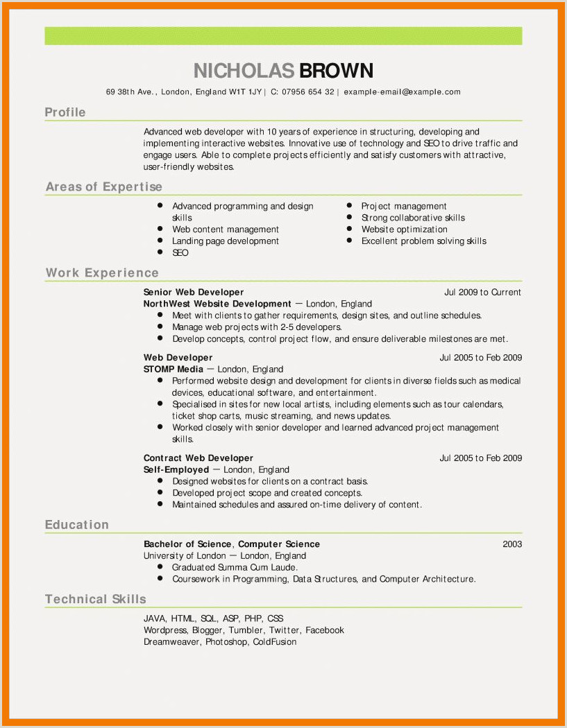 Lab Skills On Resume 12 13 How to Start A Resume Summary