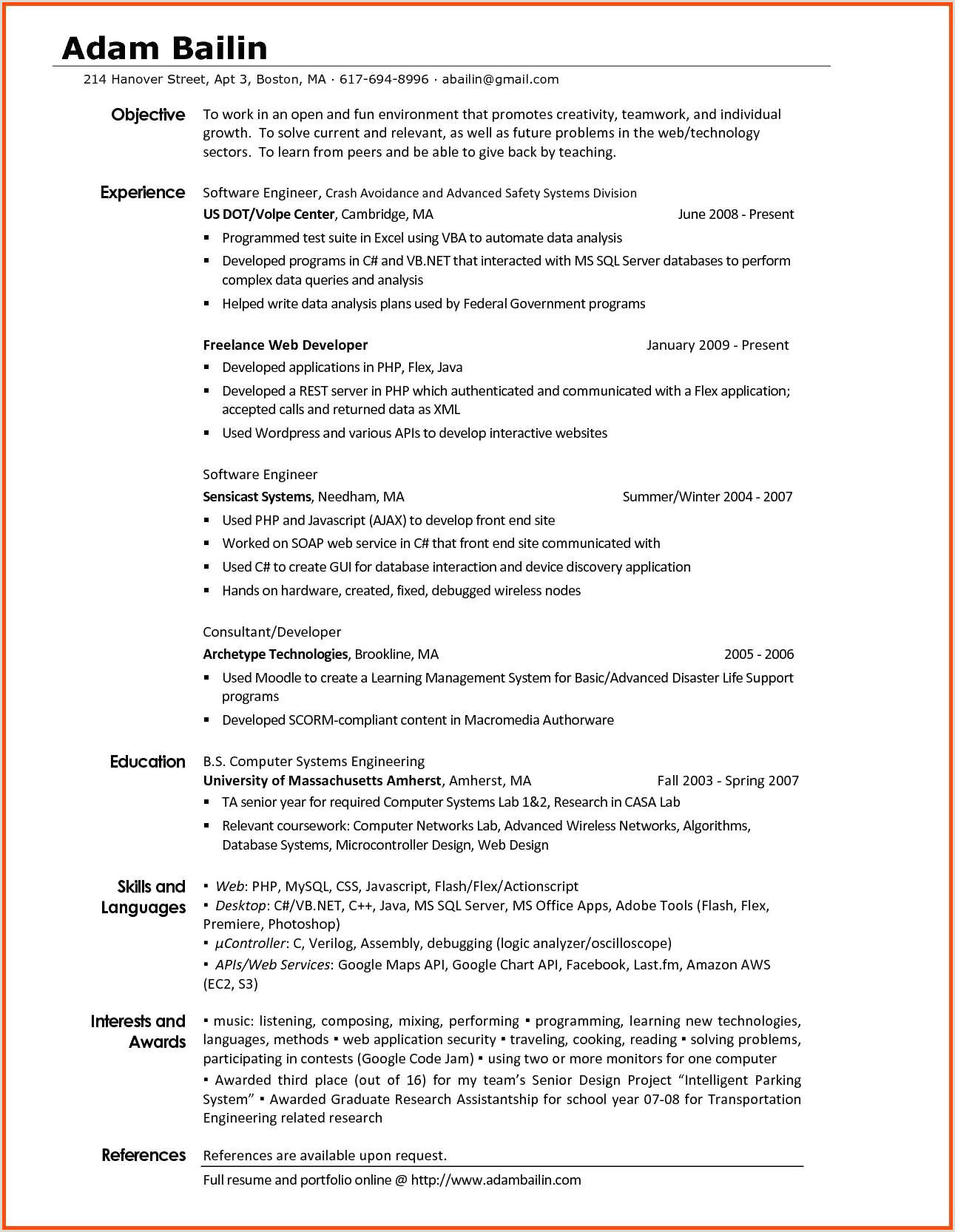 Lab Skills On Resume Lovely Puter Resume Skills – 50ger