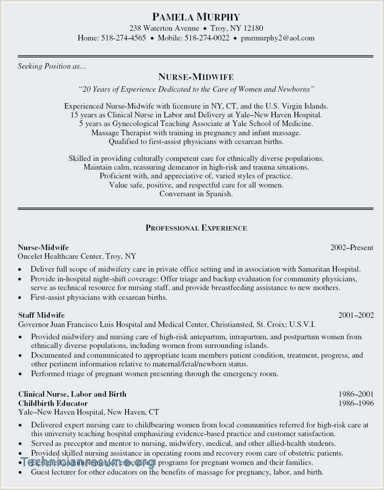 Labor Worker Resume Lovely Hospital social Worker Resume