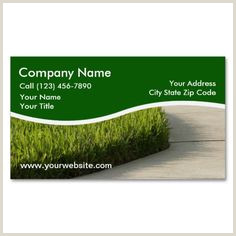 Landscaping Business Card Ideas 160 Best Landscaping Business Cards Images In 2019