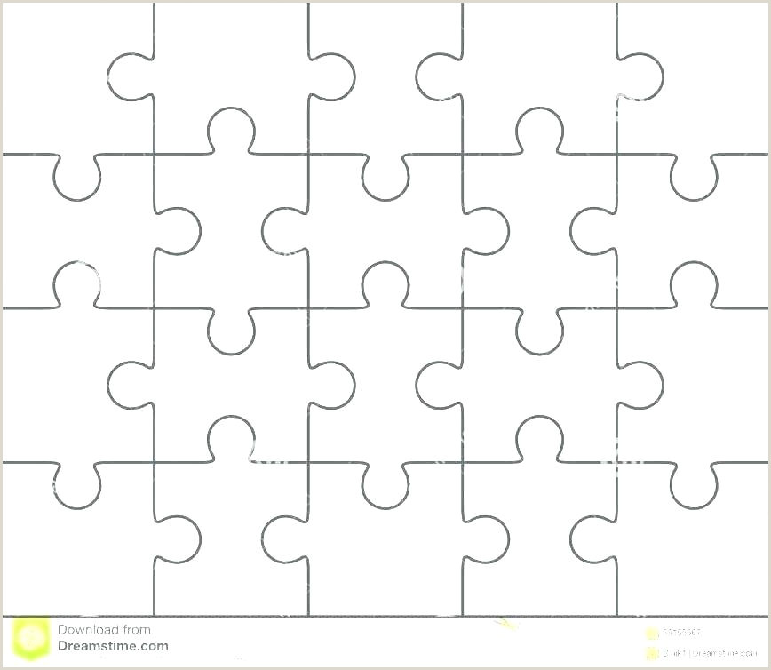 Blank Puzzle Pieces To Print New Calendar Template Site 6