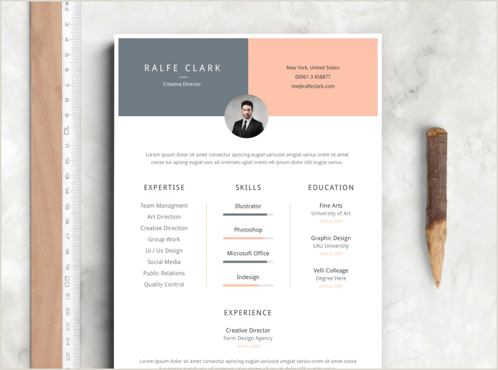 Latest Curriculum Vitae format Download 75 Best Free Resume Templates Of 2019