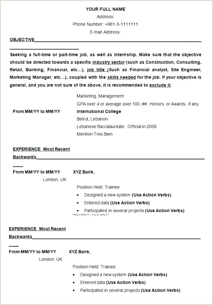 Latest Curriculum Vitae format Download International Template Curriculum Vitae Samples Cv format