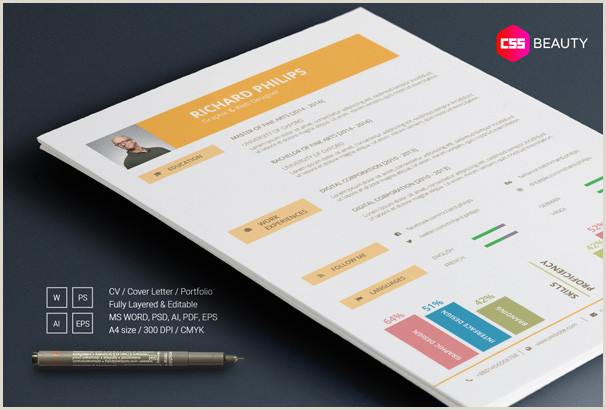 Latest Cv Design Sample Download 40 Free Resume Templates 2018 Professional & Free
