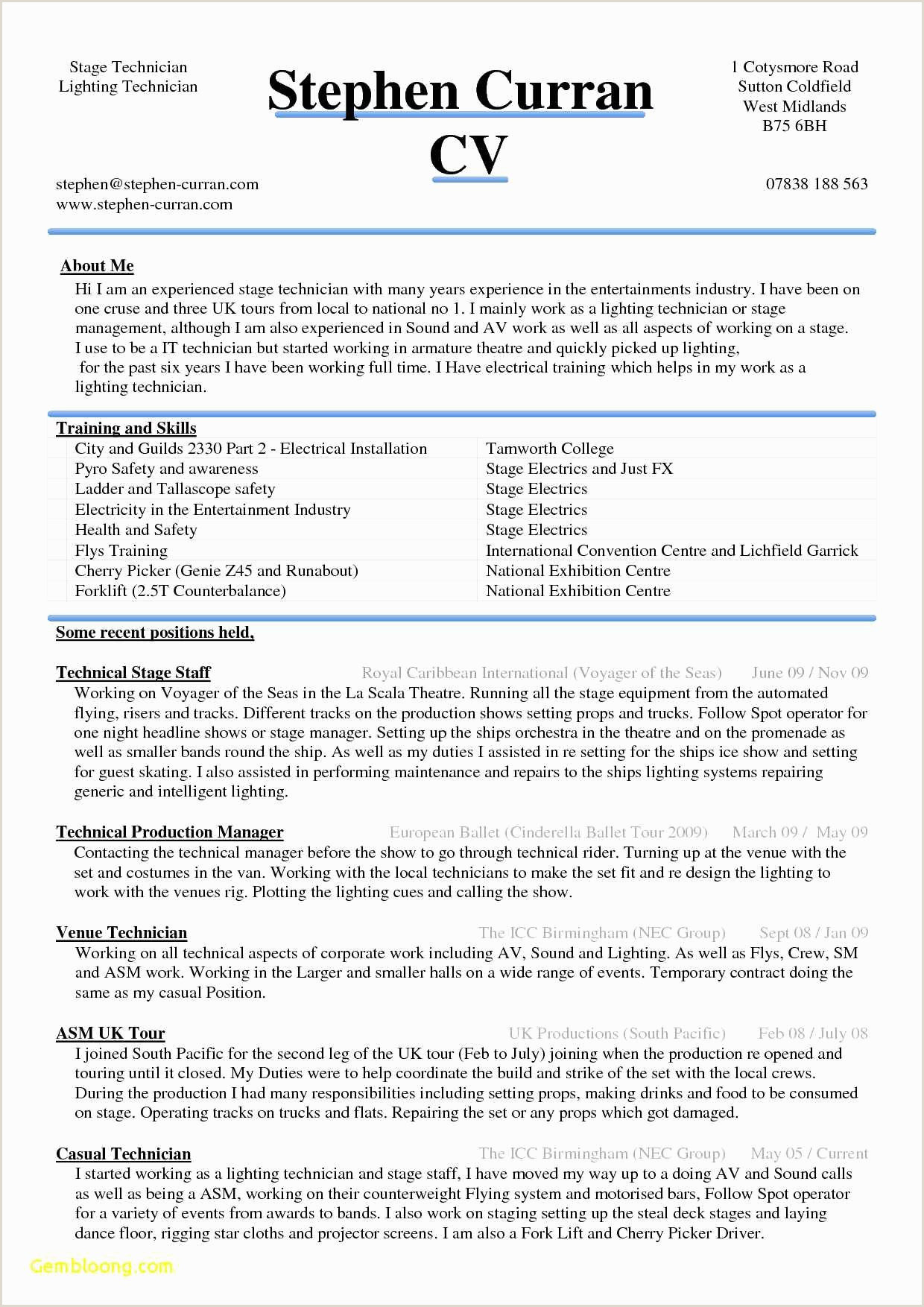 Hairstyles Cv Resume Template Newest Microsoft Word Resume