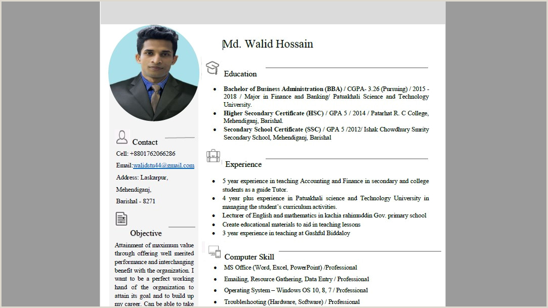 How To Create Professional Smart CV Resume in Microsoft Word