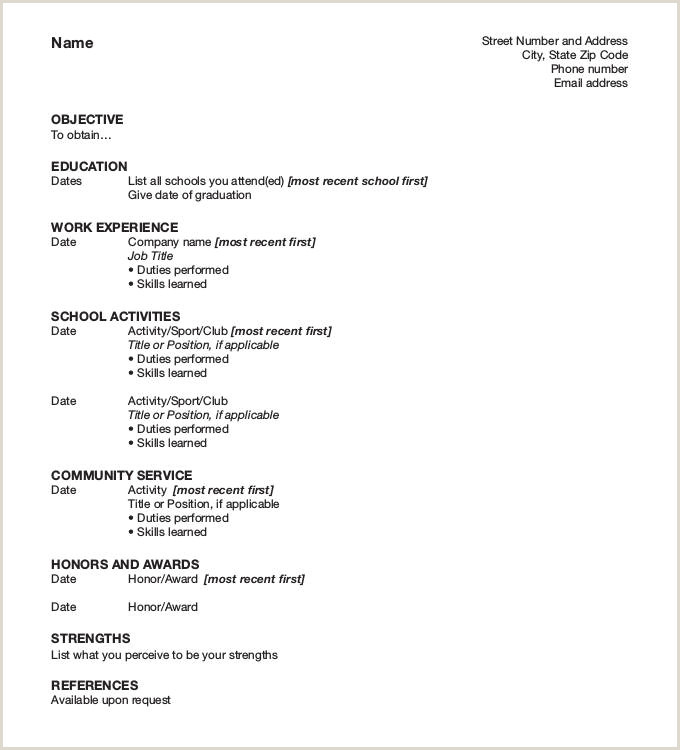 Latest Cv format Download 47 Best Resume formats Pdf Doc
