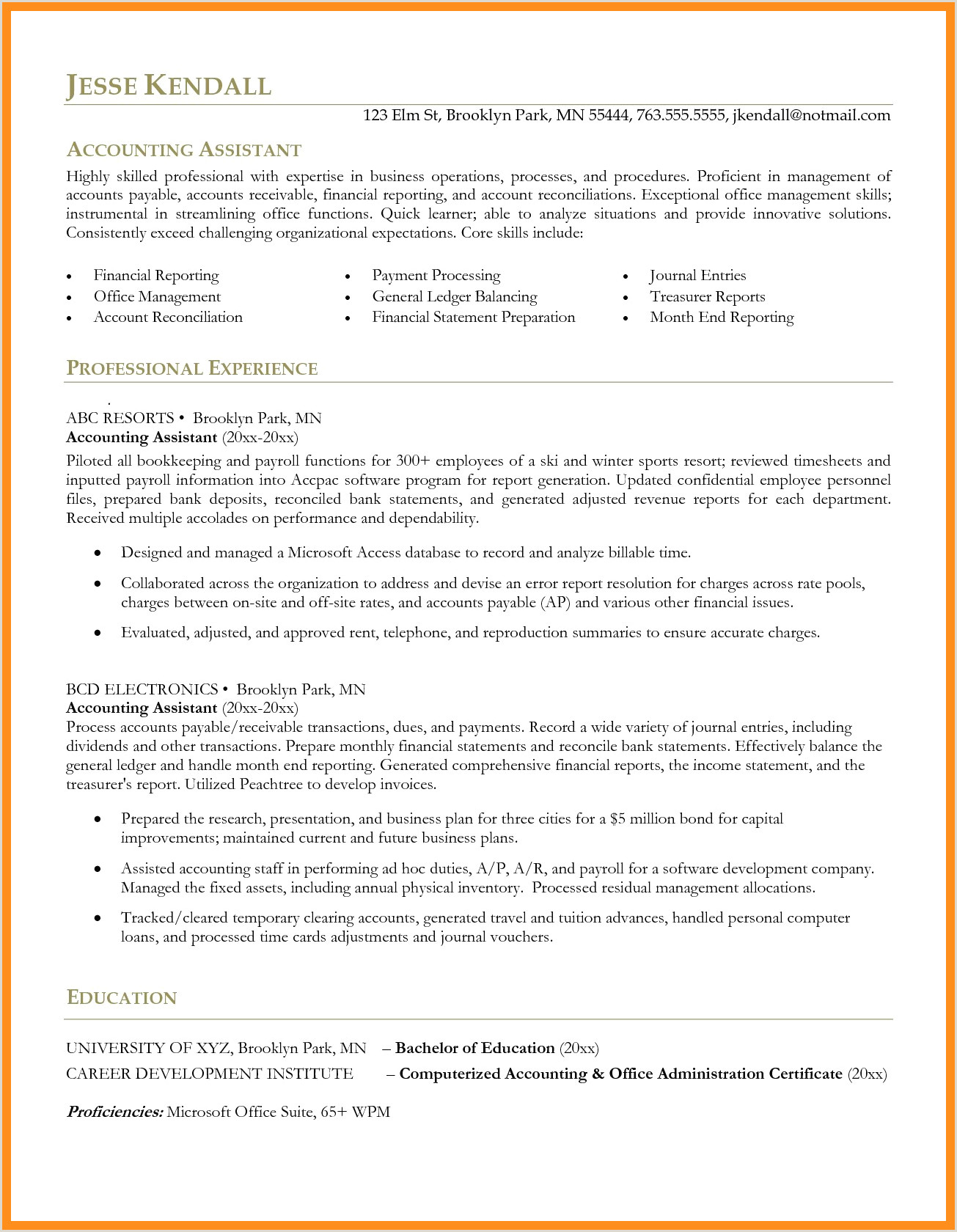 12 13 accounts assistant resume samples