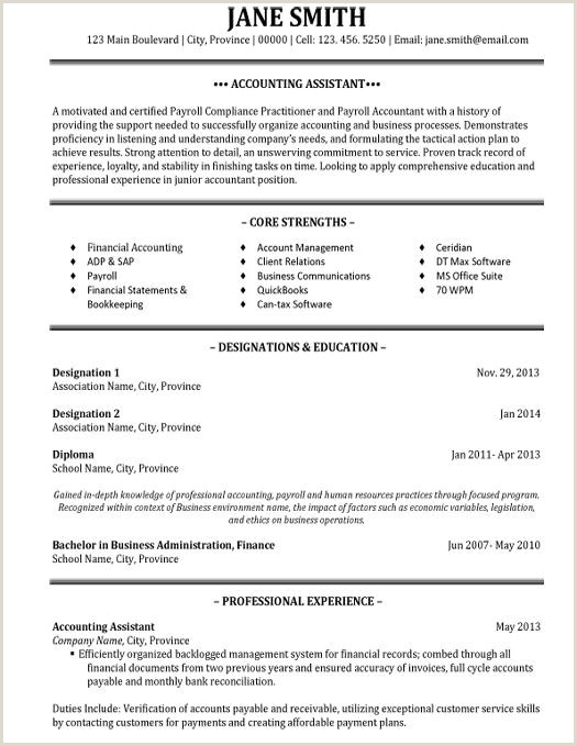 Latest Cv format for Accountant Free Download Pin by Rowena Cheng On Resumes
