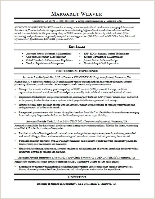 Latest Cv format for Administration Job Accounts Payable Resume Sample