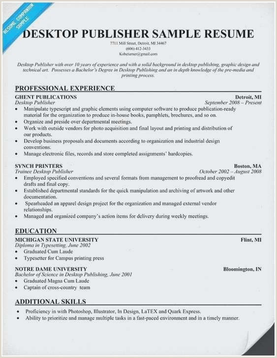 Best Resume format for An Accountant