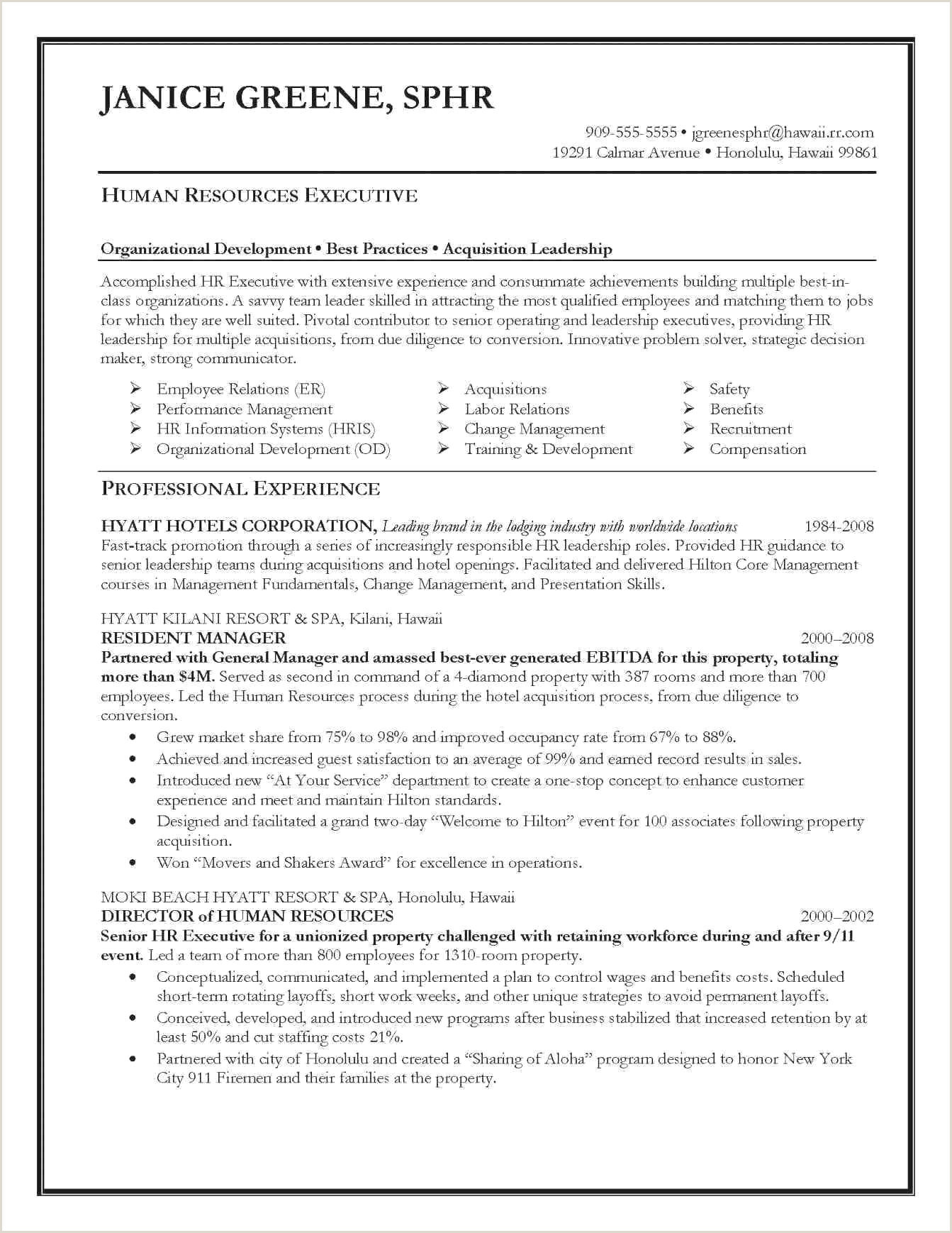 Latest Cv format for Experienced Accountant Entry Level Human Resources Resume New 40 Entry Level