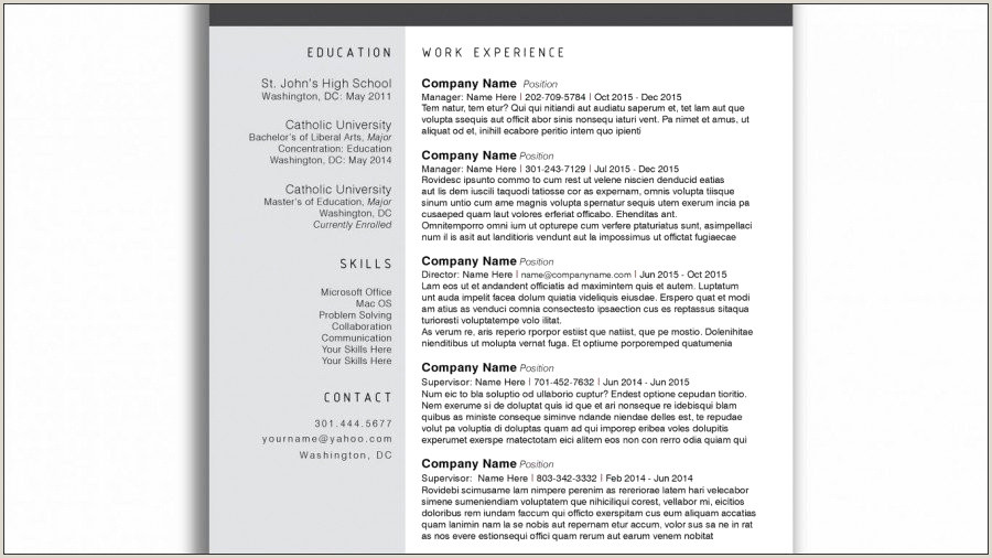 Latest Cv format for Experienced Bankers format De Cv échantillon Investment Banker Cv Template