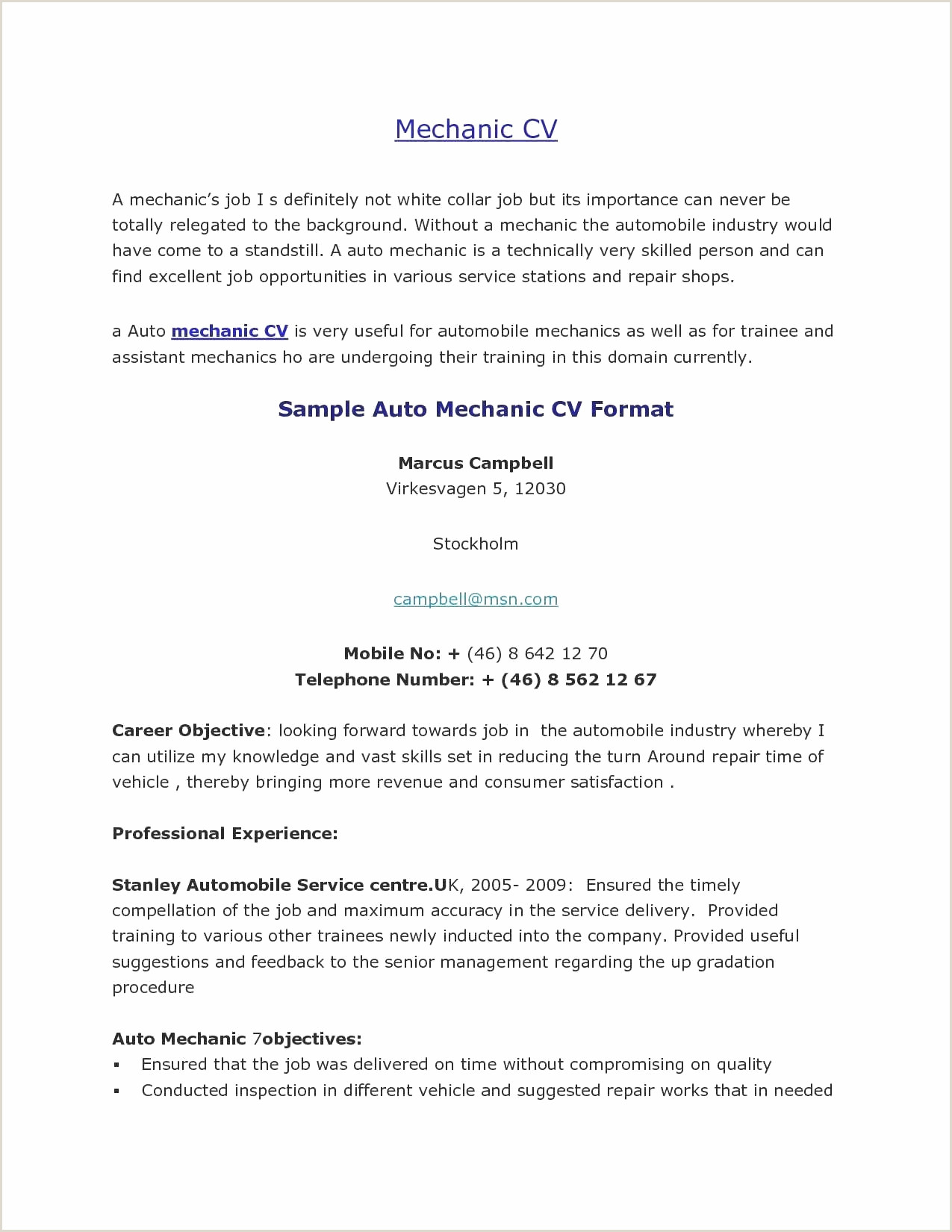 Resume top Model Inspirant Objectives Examples for Cv Best