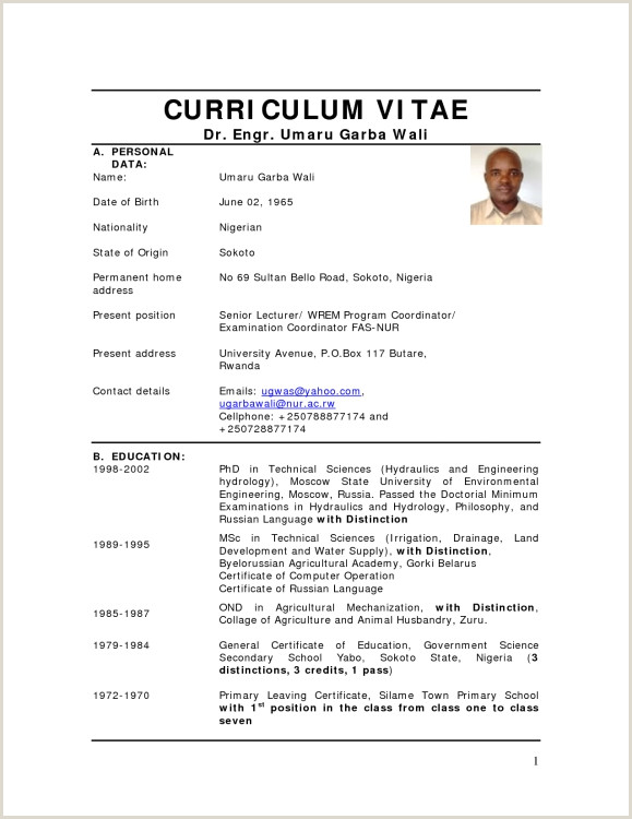 15 how to write a curriculum vitae latest format
