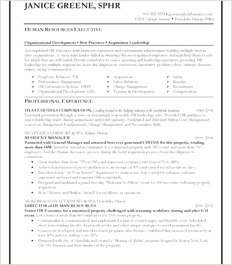 Latest Cv format for Hr Executive Gym Supervisor Resume