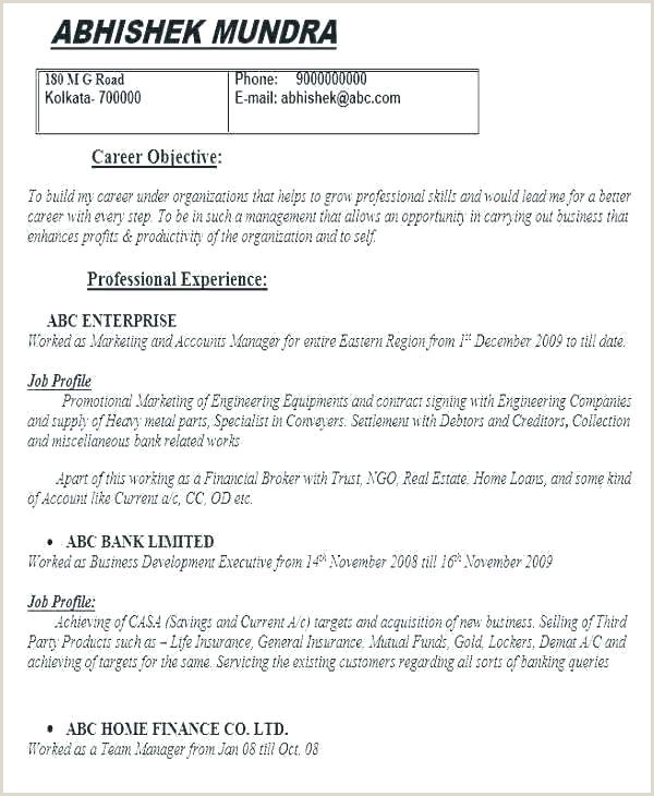 Latest Cv format for Job Application In Sri Lanka Curriculum Vitae Template