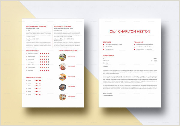 Latest Cv format for Job In Bangladesh 14 Chef Resume Templates Word Pdf Google Docs