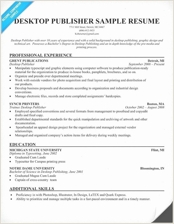 Cv format Word Nouveau 50 Pretty Resume Templates Free