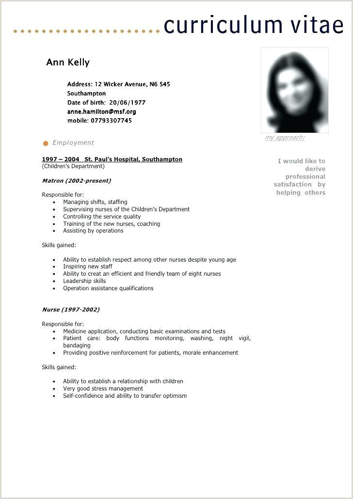 Latest Cv format for Job In Bangladesh Pdf Free Download Free Template Curriculum Vitae Sample Pdf Philippines Kenya